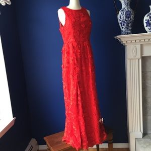 Chi Chi London Floor Length Lace Gown